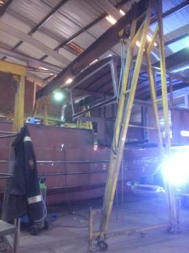 boat 2302 2 wheelhouse
